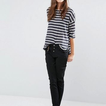 Vero Moda Stripe Sweater at asos.com
