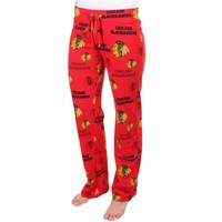 Women's Chicago Blackhawks Red Insider Allover Print Pajama Pants