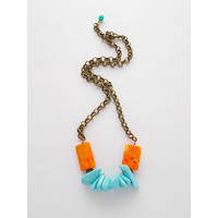 Tangerine Dash Necklace