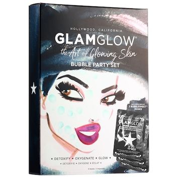 The Art of Glowing Skin Bubble Party Set - GLAMGLOW | Sephora