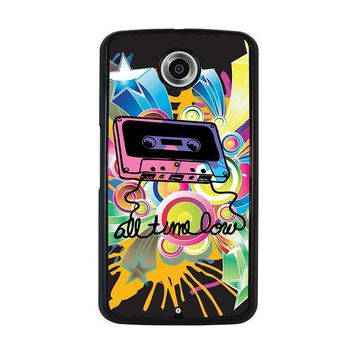 all time low retro cassete nexus 6 case cover  number 1