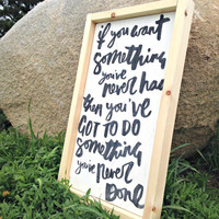 Rustic Wood Sign, Inspirational Signs, Woodland Nursery, Rustic Home Decor, Nursery Decor, Wood Sign, Child's Room, Art for Nursery