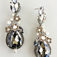 Mira Midnight Gala Earrings