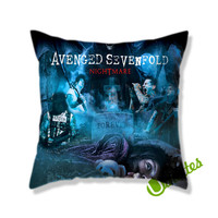 Avenged Sevenfold Nightmare Square Pillow Cover