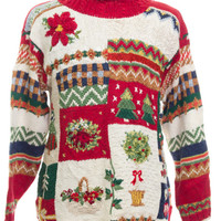 Red Ugly Christmas Pullover 42565 - The Sweater Store