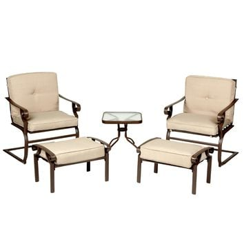 Sherwood Outdoor Chat Set, 5-Piece