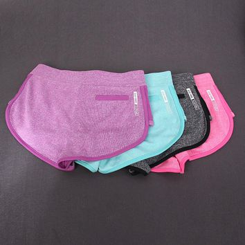Summer Sexy Women's Fitness Shorts with backside pocket Women Elastic Quick-drying Workout compression Short