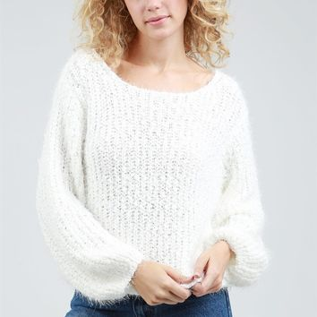 POL Julie Popcorn Sweater