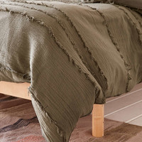 Willow Fringe Duvet Cover - Urban Outfitters