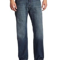 Calvin Klein Mens Relaxed Straight Jean
