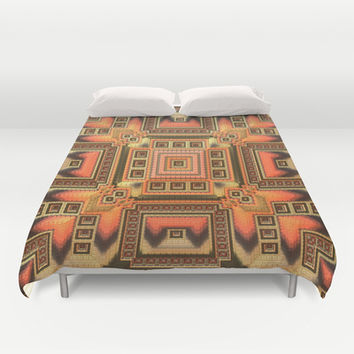 Cozy Blanket - Duvet Cover by Lyle Hatch | Society6