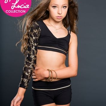 California Kisses GOLD DUST ONE SLEEVED CAMI - Sophia Lucia