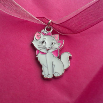 Marie (Disney's Aristocats) Necklace