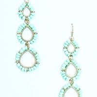 Hello Darling Earrings - TURQUOISE