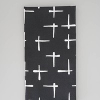 Japanese Tenugui Cloth - Cross