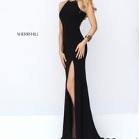 Sexy Jersey Sherri Hill Dress 32340
