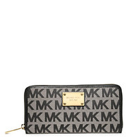 MICHAEL Michael Kors Signature Zip-Around Wallet | Dillard's Mobile