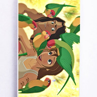 iPhone 5 Case - Rubber (TPU) Cover with tarzan and disney Rubber Case Design