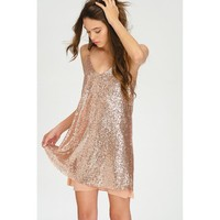 'Shimmer' Sequin Dress