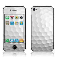 Apple iPhone 4 4S Decal Skin  Golf by skunkwraps on Etsy