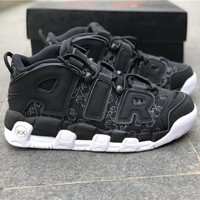 Nike Air More Uptempo Black AIR US7-12