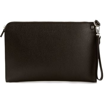 Salvatore Ferragamo Zip Clutch