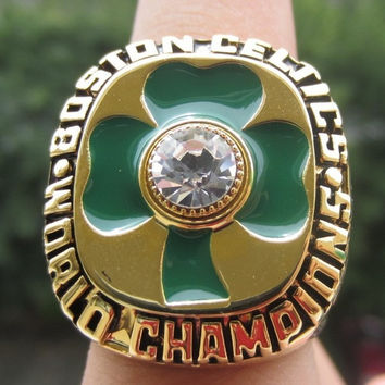 Boston Celtics 1984 Year Championship Basketball Ring Replica BIRD Size 10  Gift FANS BC2915
