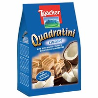 Loacker Quadratini Coconut 8.8 oz