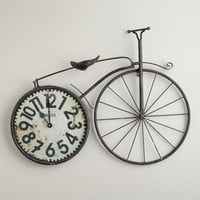 Bicycle Wall Clock