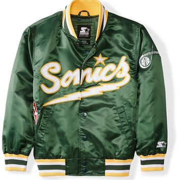 Starter Youth NBA Seattle Sonics Jacket, Prime Exclusive