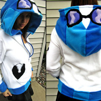 Vinyl Scratch Fleece Sweatshirt