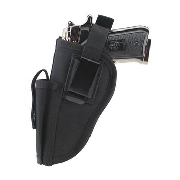 Tactical Pistol Hand Gun Holster with Magazine Right and Left hand side Pistol Fits most Medium Handguns