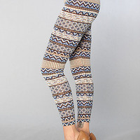 The Iris Leggings in Blue