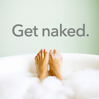 Get naked - Vinyl Wall Art