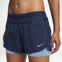 """The Nike Rival 2-in-1 Women's 3"""" Running Shorts."""