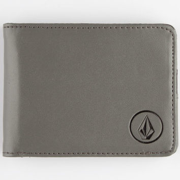 Volcom Corps Wallet Dark Green One Size For Men 25831511101
