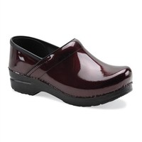 Dansko professional black cherry nursing clogs. - Scrubs and Beyond