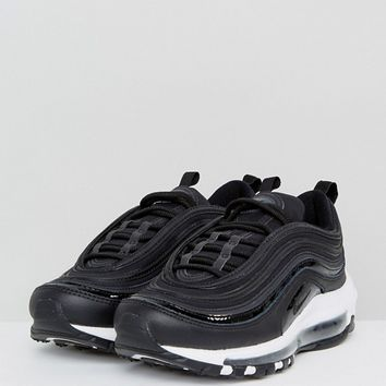 Nike Air Max 97 Premium Trainers In Black at asos.com