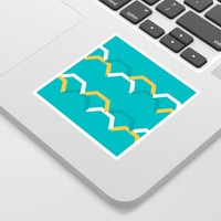 Teal Steps Sticker by spaceandlines