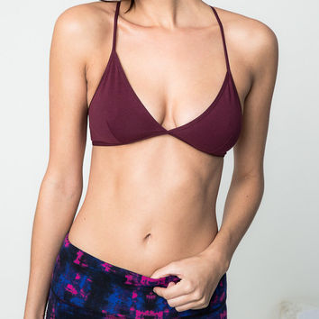 Cross Back Bralette