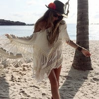 Fringe Isis Poncho - SPECIAL ORDER
