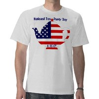 Tea Party Day tshirt from Zazzle.com