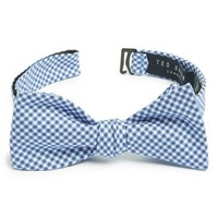 Men's Ted Baker London Check Cotton Bow Tie