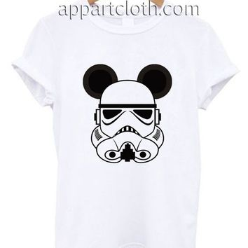 Storm Trooper Mickey Ears Funny Shirts, Funny America Shirts