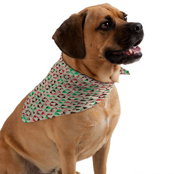 Caleb Troy Holiday Tone Shards Pet Bandana
