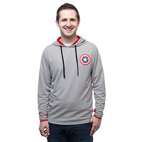Captain America Hooded Pullover with Thumb Cuffs - Exclusive