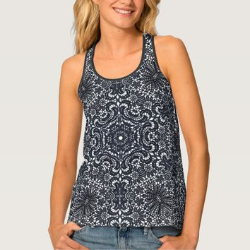 Lacy Kaleidoscope Tank Top
