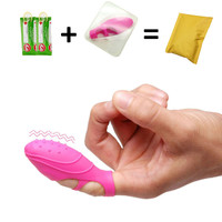Waterproof Hot Selling woman Dancer Finger Vibrator, G Spot Stimulator Dancing Finger Shoe, Adult lesbian Sex Toys for Female