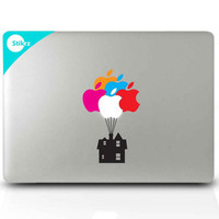 Mac Decal Sticker for your computer, laptop, board, or wall - UP House - Decal 204