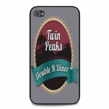 welcome to twin peaks 5 for iphone 4 and 4s case